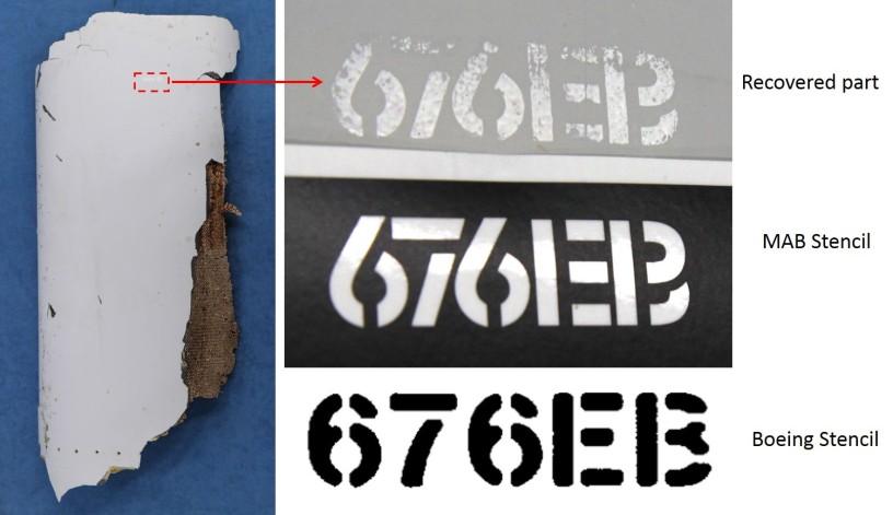 MH370, Debris