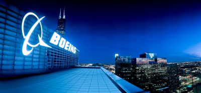 Boeing headquarters is seen in Chicago in this undated file photo. Source: Boeing